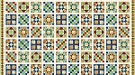 Stonehenge A Stitch in Time 2018 Primary Brights 39357 120 Pieced Blocks, Northcott
