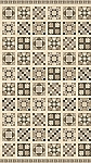Stonehenge A Stitch in Time Slate 39357 12 Quilt Blocks, Northcott
