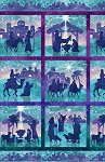 Stonehenge Joy to the World 39392 68 Squared Panel, Northcott