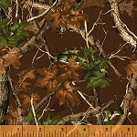 Forest 42262 3 Brown Camo Forest, Windham Fabrics