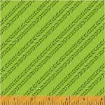 The Big Dig 42903 7 Tire Tracks Green, Windham Fabrics