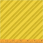 The Big Dig 42930 8 Tire Tracks Yellow, Windham Fabrics