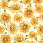 Bee My Sunshine 43315 3 White Daisies, Whistler Studios by Windham