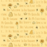 Bee My Sunshine 43316 5 Small Words, Whistler Studios by Windham