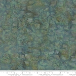 Splendor Batiks 4354 13 Basketweave Emerald, Holly Taylor by Moda