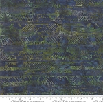 Splendor Batiks 4354 16 Herringbone Emerald, Holly Taylor by Moda