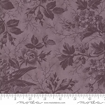 Quill 44151 27 Floral Bird Toile Purple, 3 Sisters by Moda