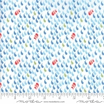Coledale 47522 11 White Raindrops, Franny and Jane by Moda
