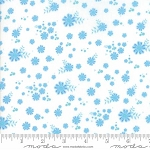 Coledale 47524 11 White Tiny Floral, Franny and Jane by Moda