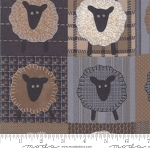 Farmhouse Flannels 49108 12F Sheep, Primitive Gatherings by Moda