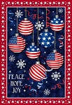 Christmas USA Peace Hope Joy Digital Panel 51665DP X, Windham Fabrics