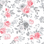 Colette 52051 1 White in Full Bloom Windham Fabrics