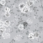 Colette 52051 3 Grey in Full Bloom Windham Fabrics