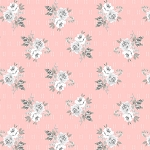 Colette 52053 5 Petal Small Rose Bouquet Windham Fabrics