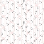 Colette 52054 1 White Lattice Leaves Windham Fabrics