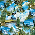 The Joy of Painting Bob Ross 5426 76 Postcards Digital Studio E