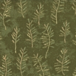 Enchanted Pond 6503 13 Clover Pine Needles, Holly Taylor by Moda