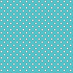 Quilt Camp 6596 11 Aqua Dots, Henry Glass