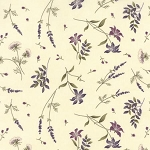 The Potting Shed 6626 11 Floral Flowers Antique White, Holly Taylor by Moda