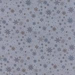 Town Square 6634 14 Snowflakes Sky, Holly Taylor by Moda