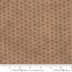 Endangered Sanctuary Flannel 6657 17F Pecan Cross Dot, Holly Taylor by Moda