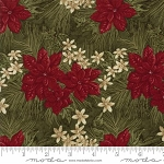 Forever Green 6691 15 Pine Poinsettia, Holly Taylor by Moda