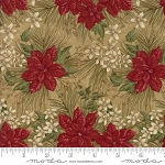 Forever Green 6691 18 Burlap Poinsettia, Holly Taylor by Moda