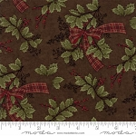 Forever Green 6692 19 Brown Holly Ribbon, Holly Taylor by Moda