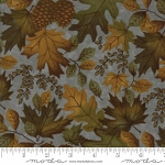 Fall Impressions Flannel 6701 15F Juniper Large Leaf, Holly Taylor by Moda