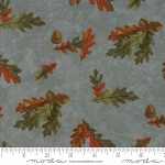 Fall Impressions Flannel 6702 15F Juniper Oak Leaf, Holly Taylor by Moda