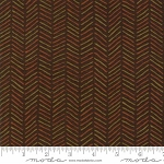 Fall Impressions Flannel 6705 14F Nutmeg Herringbone, Holly Taylor by Moda