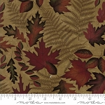 Autumn Reflections 6711 13 Antique Gold Leaves, Holly Taylor by Moda