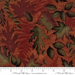 Autumn Reflections 6711 16 Copper Leaves, Holly Taylor by Moda