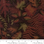 Autumn Reflections 6711 18 Brown Leaves, Holly Taylor by Moda
