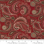 Once Upon a Memory 6731 15 Crimson Paisley, Holly Taylor by Moda