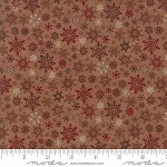 Once Upon a Memory 6735 13 Amber Snowflakes, Holly Taylor by Moda