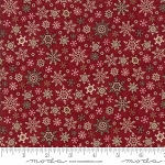 Once Upon a Memory 6735 15 Crimson Snowflakes, Holly Taylor by Moda