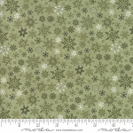 Once Upon a Memory 6735 18 Light Green Snowflakes, Holly Taylor by Moda