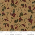Return to Cub Lake Flannel 6741 11F Oak Leaves Gold, Holly Taylor by Moda