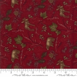 Return to Cub Lake Flannel 6742 16F Animals Red, Holly Taylor by Moda