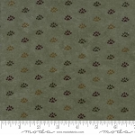 Return to Cub Lake Flannel 6743 13F Bear Paw Light Green, Holly Taylor by Moda