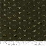 Return to Cub Lake Flannel 6743 14F Bear Paw Dark Green, Holly Taylor by Moda