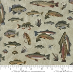 Lake Views 6801 16 Mist Fish, Holly Taylor by Moda