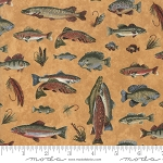 Lake Views 6801 19 Gold Fish, Holly Taylor by Moda