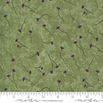 Violet Hill 6824 11 Celery Thistle Floral Holly Taylor Moda