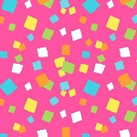 Hop To It 6856 22 Pink Confetti Dot, Henry Glass