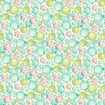 Splish Splash 8949 44 Pastel Bubbles, Henry Glass