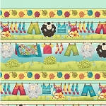 Splish Splash 8951 33 Border Print, Henry Glass