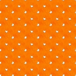 A Haunting We Will Go 9069 33 Orange Stars Glow in the Dark, Henry Glass