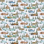 Snowy Woods 9090 11 Cars Campers and Cabins, Henry Glass